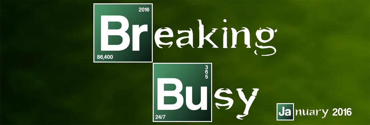 Breaking Busy Banner